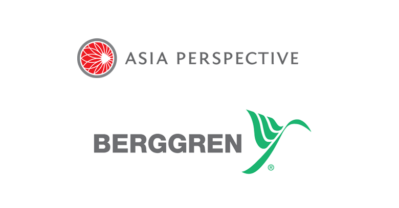 Asia Perspective and Berggren Logos
